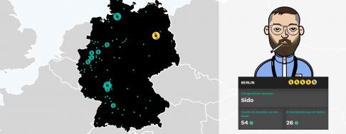 Hip-Hop Hochburgen Deutschland
