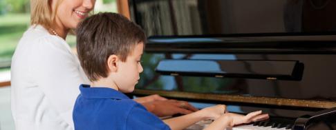 Klavierunterricht Keyvisual
