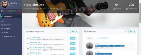 Musikunterricht online Keyvisual