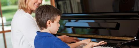 Klavierlehrer Portrait Keyvisual