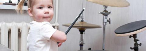 Schlagzeugunterricht für Kinder Keyvisual