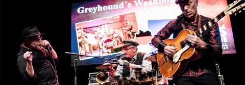 Street Corner Blues von Greyhound's Washboard Band Keyvisual