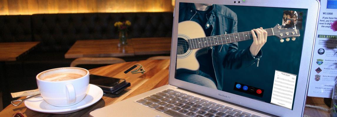 Online Musikunterricht der Musikschule Debener