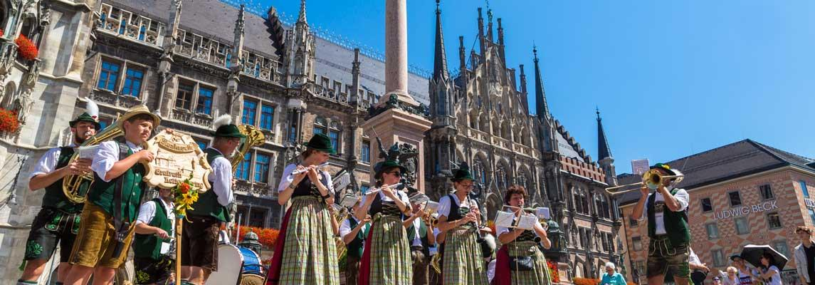 Musikunterricht in München Keyvisual